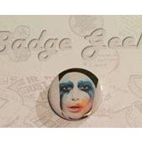 Lady Gaga, Applause, Pinback Button Badge, 1/25mm, Geeky Badge, Badge Geeks, Novelty, Fun, Gift, Yarn Subscription - Lady Gaga Gifts