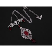 Vampire Gothic Bat Necklace - Vampire Gifts