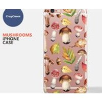 Mushroom iPhone 7 Case, Mushroom iPhone Case, Mushroom iPhone 6 Case, Mushroom iPhone 6 Case (Shipped From UK) - Mushroom Gifts