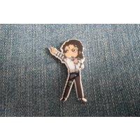 Handmade Michael Jackson King Of Pop Music Character Pin Badge 4 - Michael Jackson Gifts