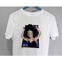 John Wayne  Lady Gaga Illustration Tshirt - Lady Gaga Gifts