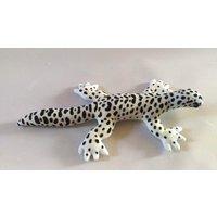 Leopard Gecko Plush / Realistic Markings / Mack Snow Morph - Morph Gifts