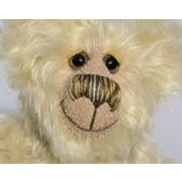 Dudley is a very happy and friendly little bear, a one of a kind, artist teddy bear made from wonderful mohair by BarbaraBears - Teddy Gifts