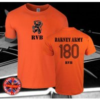 Raymond van Barneveld, Barney Army Darts Tshirt, Gift, RVB, Holland, Sizes Gift, Mens, Ladies, Kids, Events, Tour, Fans. Darts, Supporters - Darts Gifts