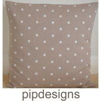 New 24 Large Pillow Slip Sham Case Cushion Cover Pillowslip Pillowsham Pillowcase Mushroom Brown White Polka Dots - Mushroom Gifts