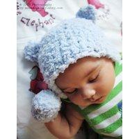 6 to 12m Blue Bear Hat Baby Boy Beanie Bear Cub Crochet Blue Baby Hat Bear Beanie Baby Bear Photo Prop Christmas Gift Christmas Gift - Bear Gifts
