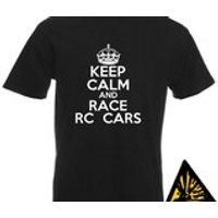 Keep Calm And Race RC Cars TShirt Joke Funny Tshirt Tee Shirt Gift Radio Control - Rc Gifts