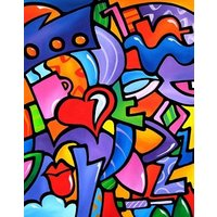 Jigsaw Puzzle Wall Art 1000 Pieces  Just some stuff by Thomas Fedro  Modern  Art - Jigsaw Gifts