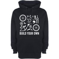 Build Your Own Full Suspension Bike Mens Womens Hoodie Mountain Biking Road Racing BMX Retro Cycling Clothing NEW - Build Your Own Gifts