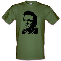 JOHNNY CASH Che Guevara style Country Man in Black Gildan Heavy Cotton tshirt Small  XXL - Johnny Cash Gifts