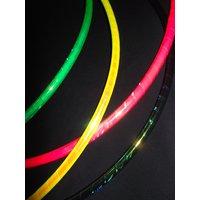 Rainbow Dragon 30/32/34 Standard Polypro Dance HULA HOOP  Coloured Iridescent Morph - Morph Gifts