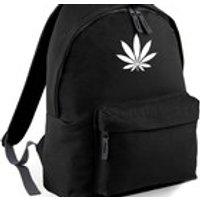 Cannabis Weed Leaf Backpack Back to School Street Bag Ruck Sack - Cannabis Gifts