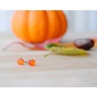 Halloween Jewellery  Pumpkin Earrings  JackOLantern  Fancy Dress  Autumn Jewellery  Nickel Free - Halloween Gifts