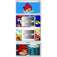 Angry Birds Vinyl Skin Sticker for Nintendo DS lite/DSi/DSi xl/3DS/3DS xl/New 3DS cstick/New 3DS xl cstick/2DS - Angry Birds Gifts