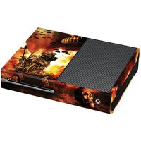 Soldier In The Flames Print Xbox One Vinyl Wrap  / Skin / Cover - Xbox Gifts