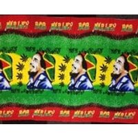 Bob Marley Weed Smoke Jamaica Beach Sarong Bikini Wrap Cloth Wall Hanging Design 2 - Bob Marley Gifts