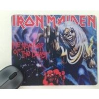 Iron Maiden  The Number of the Beast Album cover Mousepad / Mouse Mat - Iron Maiden Gifts