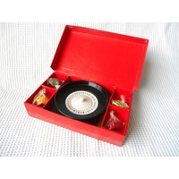 Roulette Game Boxed Set Toy Childrens 1950s - Roulette Gifts