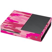 Pink Camouflage Print Xbox One Vinyl Wrap / Skin / Cover - Xbox Gifts