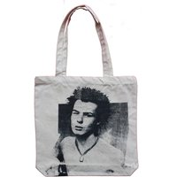 Sex Pistols BAG Sid Vicious Punk Shopper  Anarchy Tote Shopping Bag for Life  canvas - Sex Pistols Gifts
