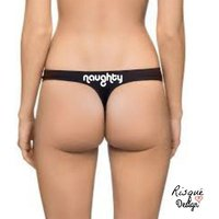 Naughty Thong, Sexy GString Underwear, BDSM Panties, Naughty Panties, Erotic GString, Sexy Slogan, Girlfriend Gift, Naughty Sex, Nudity - Sex Gifts