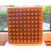 Deluxe Wooden Sudoku Game Board - Sudoku Gifts