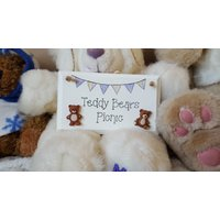 Teddy Bears Picnic Childrens Bedroom Sign - Teddy Bears Gifts