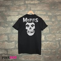 Fathers Day Gift  Misfits Shirt  punk/metal  large print on the back  Iconic - Misfits Gifts