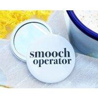 Smooch Pocket Mirror  Fun pocket mirror  Pocket Mirror  stocking filler  Compact Mirror  Handbag mirror  secret santa  make up mirror - Handbags Gifts