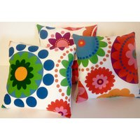 Ikea Fabric Cushion Pillow Cover Retro Vintage Style Floral 16  18  20  22  24  12 x 20 - Floral Gifts