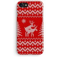 Reindeer sex christmas jumper pattern  iPhone X case, iPhone 8 case, Samsung Galaxy S8 case, iPhone 6, iPhone 7 plus, iPhone SE 1M161 - Sex Gifts
