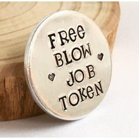 Free Blow Job Token, Rude Gift, Gifts for Groom, Gifts for Husband, Sex Token, from wife, Rude, Present, Gifts for Fiance, Sex Game, Adult - Sex Gifts