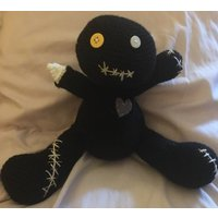 Cute wicked little Voodoo Doll Handcrafted Crochet (large) - Voodoo Doll Gifts