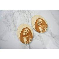 Engraved Bob Marley EarringsAfrican EarringsCountry JewelryAfricaAfrican JewelleryAdinkra JewelleryEarrings - Bob Marley Gifts
