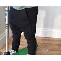 Black baby harem sweat pants / toddler joggers / kids kangaroo pocket skinny sweat pants / boys harems  skinny leg fit - Kangaroo Gifts