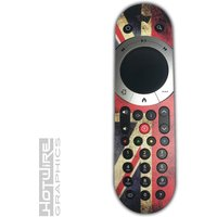Union Jack Grunge Style Vinyl Sky Q TOUCH Remote Control Sticker Skin Kit SKYQ - Remote Control Gifts