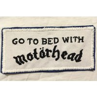 Motorhead hand embroidered patch - Motorhead Gifts