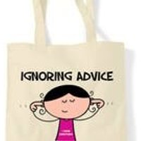 Ignoring Advice 90th Birthday Tote Shopping Bag - 90th Birthday Gifts