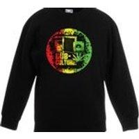 Dub Culture Kids Childrens Unisex Jumper Sweatshirt  Bob Marley Reggae Rasta Jamaica Rastafari - Bob Marley Gifts