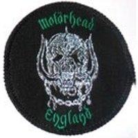 MOTORHEAD ENGLAND glitter woven patch - Motorhead Gifts