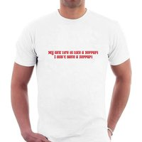 Ferrari Sex Life Tshirt. Funny Spoof Parody Tee - Sex Gifts