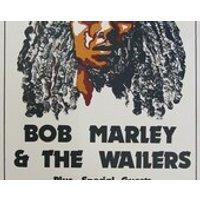 Vintage Music Art Poster  Bob Marley  The Wailers UC Berkeley  0292 - Bob Marley Gifts