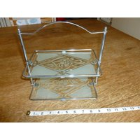 Chrome and glass stand - Chrome Gifts