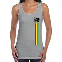 Lion of Judah Stripes Womens Vest Tank Top  Reggae Jamaica Bob Marley - Bob Marley Gifts