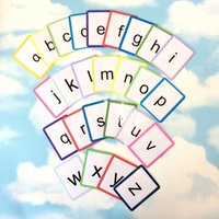 Alphabet flash cards, Lowercase letters, Alphabet learning cards, Nursery, Childrens development, Educational toy, Early years, EYFS - Educational Gifts