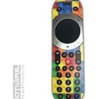 Lego Blocks Multicolour Sky Q TOUCH Remote Control Vinyl Sticker Skin Kit SKYQ - Remote Control Gifts