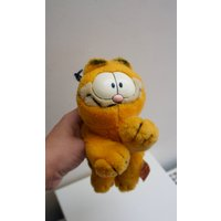 Vintage, 1981, Garfield, Soft Toy, Plushie, Cat, Kitten, Orange, Collectible, Comic, Character, Toys, Retro, TV, Cartoon, Gift, Brother, Dad - Garfield Gifts