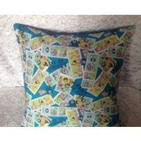 Handmade Spongebob Squarepants 16 Inch Cushion Cover - Spongebob Squarepants Gifts