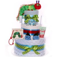 The Very Hungry Caterpillar Nappy Cake. - The Very Hungry Caterpillar Gifts