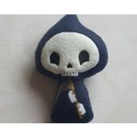 Voodoo doll, witches poppet, pincushion, Grim Reaper, divorce gift, heartbreak, UK - Voodoo Doll Gifts